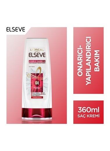 L'Oréal Paris Elseve Komple Onarıcı 5 Yapılandırıcı Bakım Kremi 360 Ml Renkli